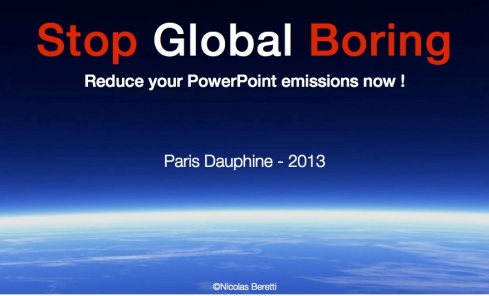 PowerPoint boring - Stop au PowerPoint