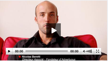 Interview Nicolas Beretti sur Créer sa boîte.fr le site de l'île de France