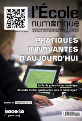 Revue de l'Ecole Numérique- Nicolas Beretti