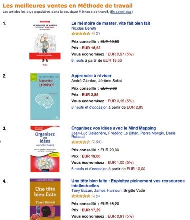 Le Mémoire de Master Vite Fait Bien Fait Amazon n°1 - Nicolas Beretti
