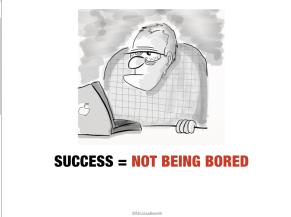 L'ennui est le vrai marqueur du succès. ©NicolasBeretti